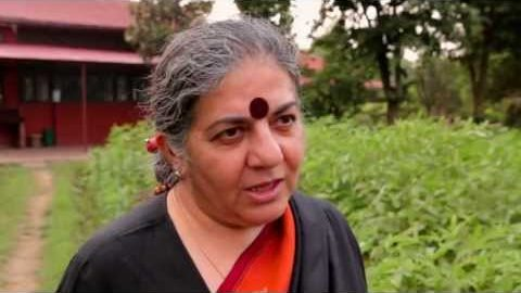 Vandana Shiva Explains the Problems with Industrial Agriculture